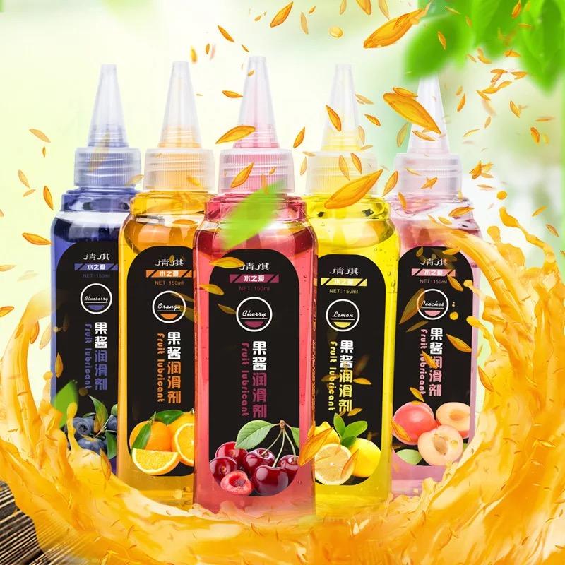买二送一水果味果酱润滑液口娇液可食用免冲洗水溶性私处润滑油