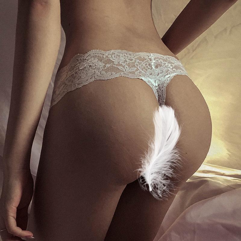 私密小草莓LSB性感火辣情趣内衣服调情透明丁字裤蕾丝低腰内裤