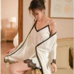 瑰若 性感情趣內衣 女用冰絲睡袍