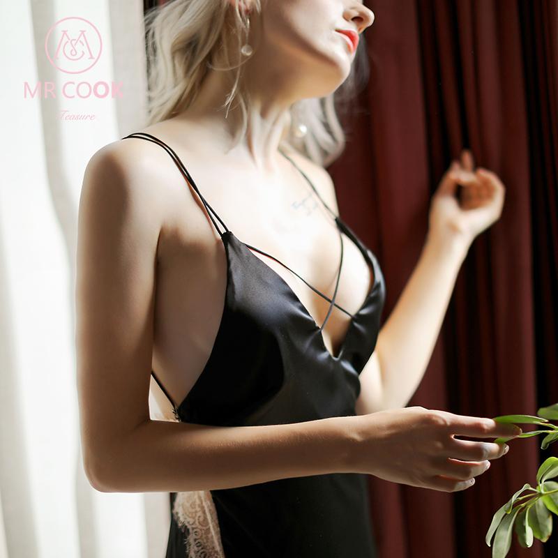 Mrcook暮色情趣內衣 情趣套裝小胸睡衣性感 騷三點式透視裝露背裝