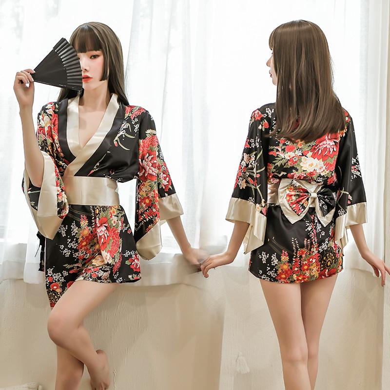 情趣睡衣挑逗性感女夏季騷短超薄款冰絲火辣私房激情套裝睡裙服裝