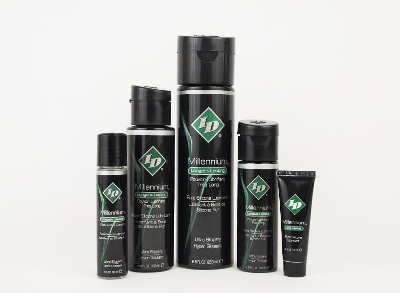 美國進口ID Millennium千年肛交潤滑劑硅性長久高端級潤滑液2.2OZ