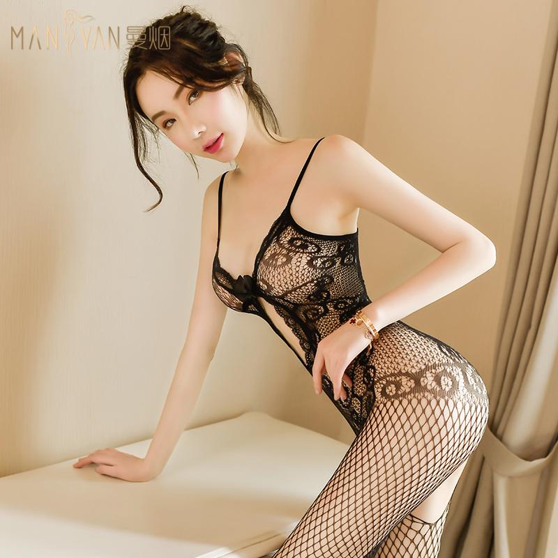 情趣內衣性感絲襪透明衣服激情套裝超騷制服誘惑變態開檔床上免脫
