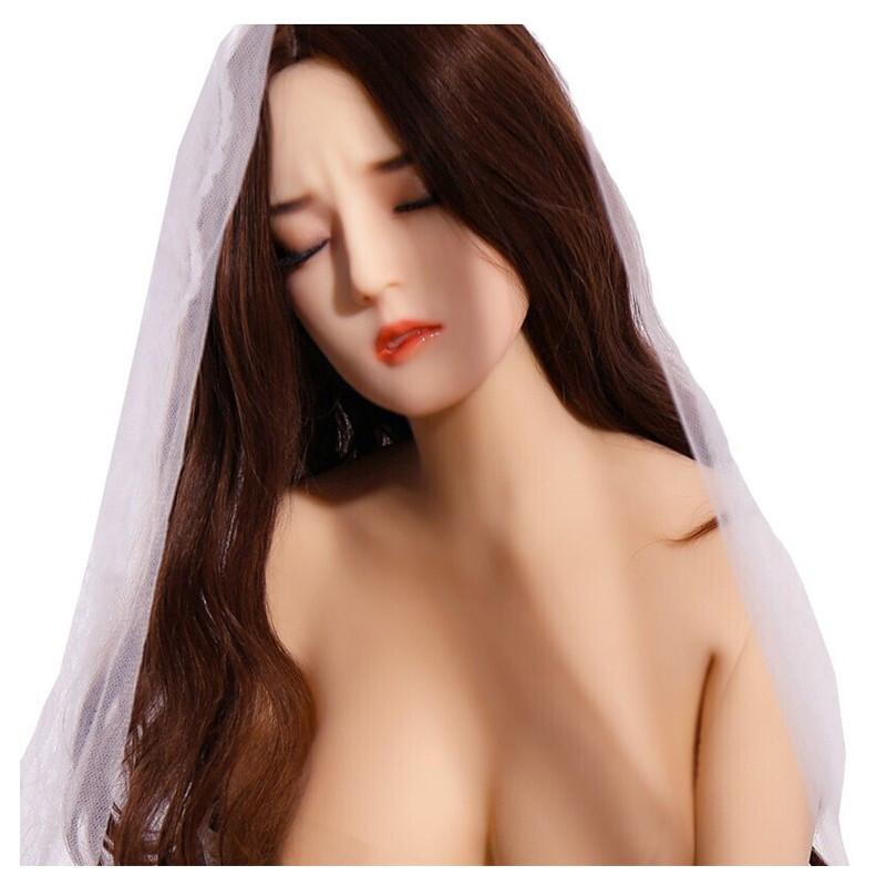 實體娃娃硅膠充氣娃男用真人機器人女友帶骨架真陰女性成人用品