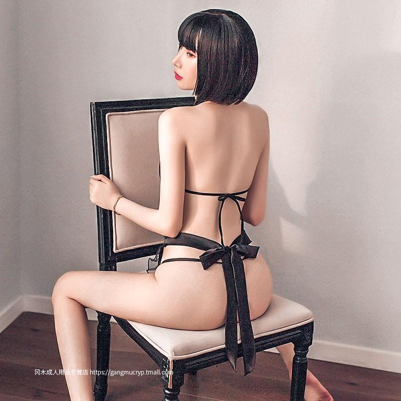 性感旗袍綁帶圍裙套裝情趣內衣制服誘惑激情超騷服裝火辣挑逗