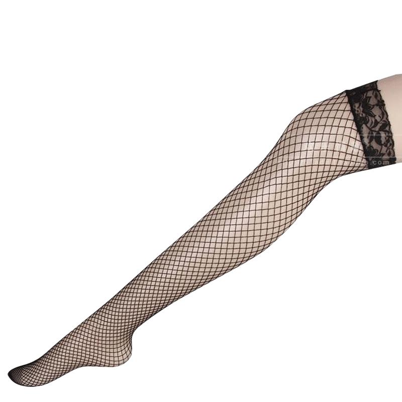 情趣絲襪蕾絲網襪過膝襪女高筒防勾絲性感情趣騷大腿絲襪內衣配件